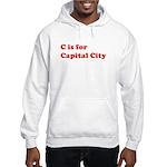 C is for Capital City Hooded Sweatshirt