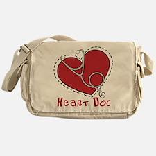 Heart Doc Messenger Bag