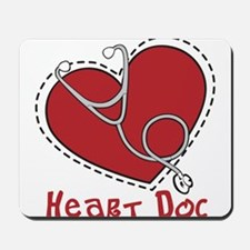 Heart Doc Mousepad