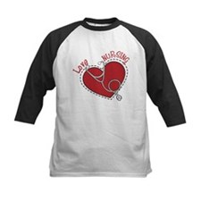 Love Nursing Baseball Jersey