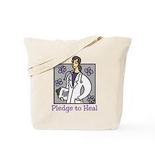 Pledge To Heal Tote Bag
