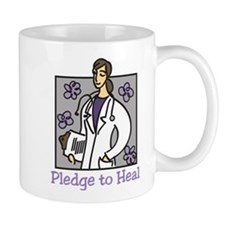 Pledge To Heal Small Mug