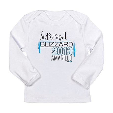 Survived Blizzard 2013 Amarillo Long Sleeve T-Shir