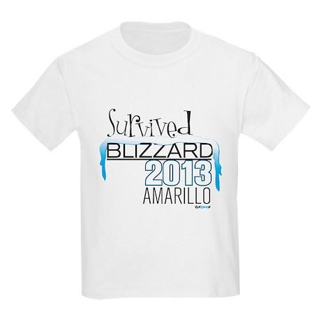 Survived Blizzard 2013 Amarillo T-Shirt