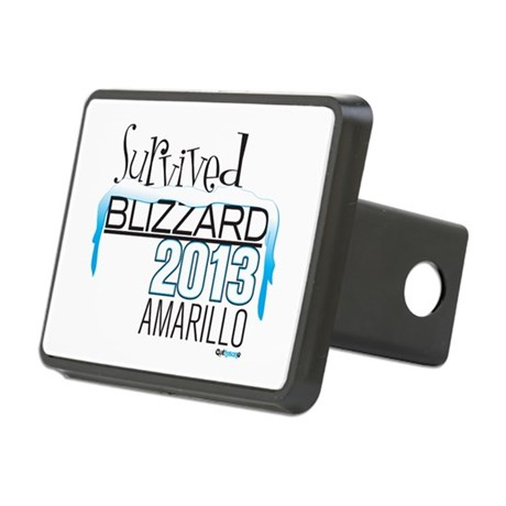 Survived Blizzard 2013 Amarillo Hitch Cover