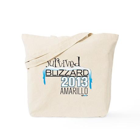 Survived Blizzard 2013 Amarillo Tote Bag