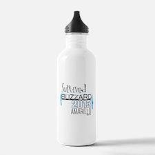 Survived Blizzard 2013 Amarillo Water Bottle