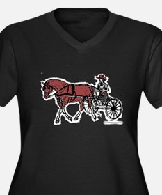 Harness Horse Plus Size T-Shirt