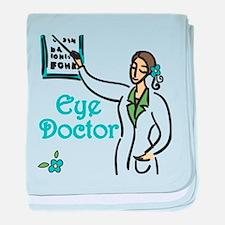 Eye Doctor baby blanket