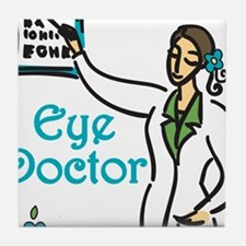 Eye Doctor Tile Coaster