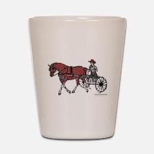 Harness Horse Shot Glass