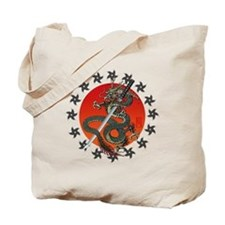 Dragon katana 2 Tote Bag