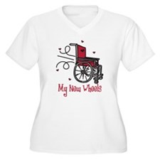 My New Wheels Plus Size T-Shirt