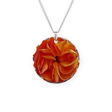 Georgia in Orange Necklace