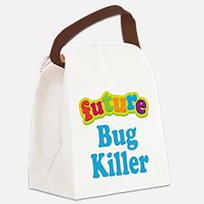 Future Bug Killer Canvas Lunch Bag