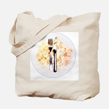 Dirty plate - Tote Bag
