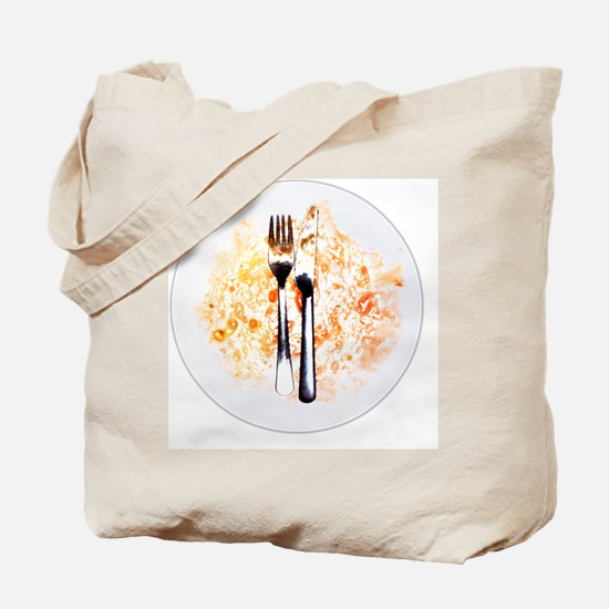 Dirty plate - Tote Bag