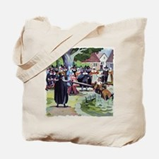 Ducking stool, artwork - Tote Bag