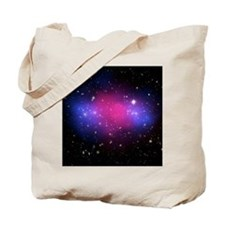 Galaxy cluster collision, X-ray image - Tote Bag