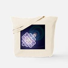 Platinum crystal, molecular model - Tote Bag