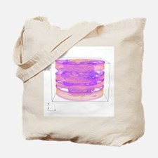 Turbulent gas flow simulation - Tote Bag