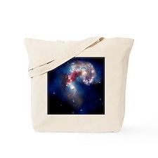 Antennae galaxies, composite image - Tote Bag