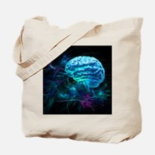 Brain research, conceptual artwork - Tote Bag