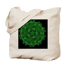 Coxsackie B3 virus particle - Tote Bag