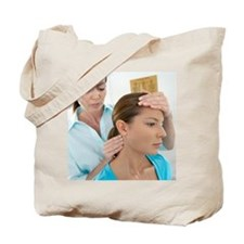 Chiropractic examination - Tote Bag