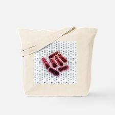 E coli bacteria, artwork - Tote Bag