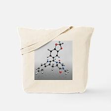Cialis drug molecule - Tote Bag