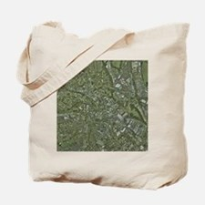 Derby, UK, aerial image - Tote Bag