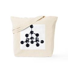 Diamond crystalline structure - Tote Bag
