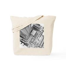 Computer motherboard, artwork - Tote Bag