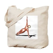Female muscles, artwork - Tote Bag