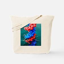 DNA splashing into water, artwork - Tote Bag