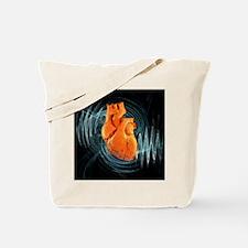 Heartbeat, conceptual artwork - Tote Bag