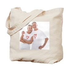 Happy senior couple - Tote Bag