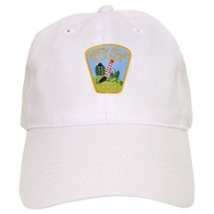 North Pole Police Baseball Cap