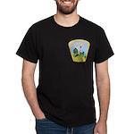 North Pole Police Dark T-Shirt