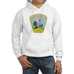 North Pole Police Hooded Sweatshirt