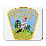 North Pole Police Mousepad