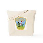 North Pole Police Tote Bag