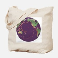 Pacific Ring of Fire - Tote Bag