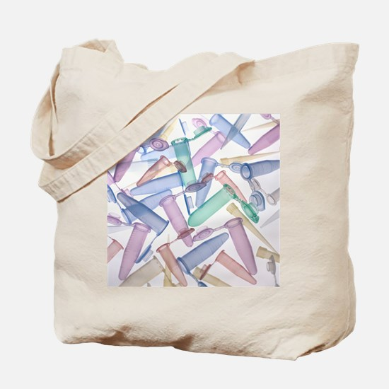 Pipette tips and sample tubes - Tote Bag