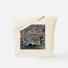 Plymouth, UK, aerial image - Tote Bag