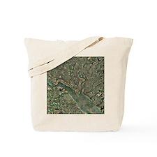 Southampton, UK, aerial photograph - Tote Bag