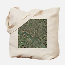 Southampton, UK, aerial photograph - Tote Bag