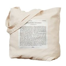 Punishment of Slaves text - Tote Bag