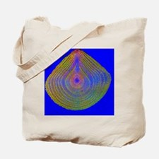 Sea urchin spine, light micrograph - Tote Bag